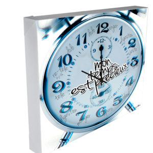 horloge personnalis e tableau horloge m canismes d 39 horloges tableaux horloges. Black Bedroom Furniture Sets. Home Design Ideas