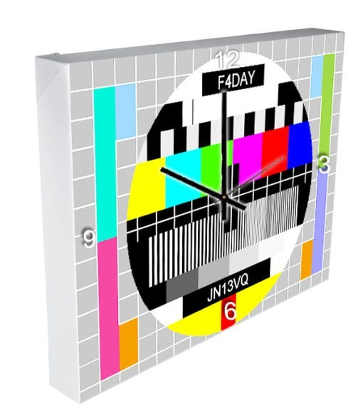 horloge mire TV