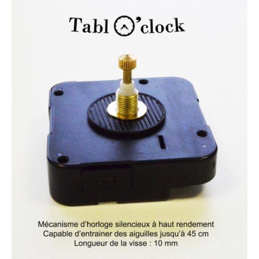 mécanisme pour horloge géante