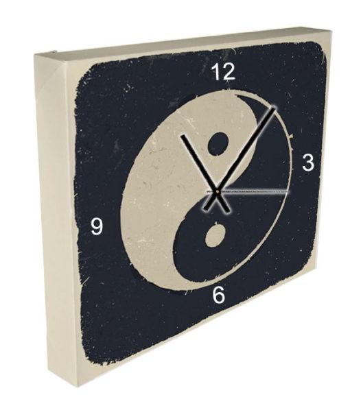 horloge ying yang vintage