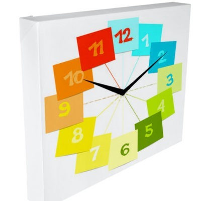 tableau horloge post it